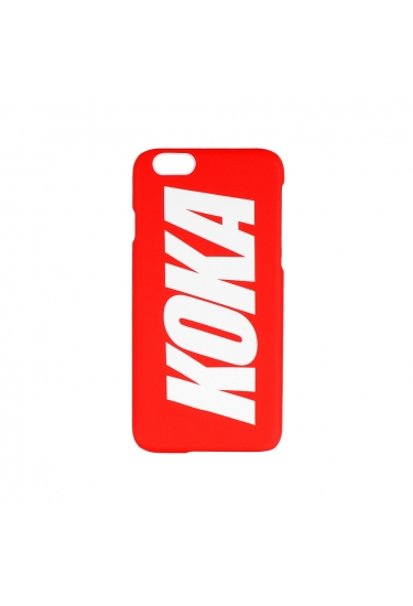 Obudowa na telefon KOKA Logo Iphone 6/6S Case Red