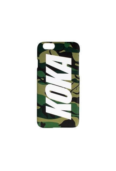 Obudowa na telefon KOKA Logo Iphone 6/6S Case CAMO NAKED Beige/Green/Black