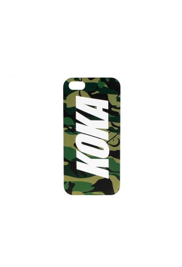 Obudowa na telefon KOKA Logo Iphone 5/5S Case Camo Naked Beige/Green/Black