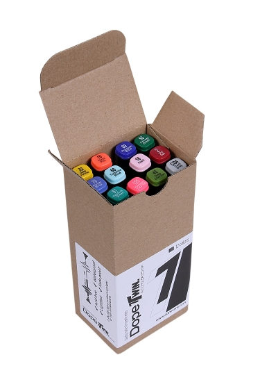 Dope Cans TWIN 2.0 Markers User Set 12szt.