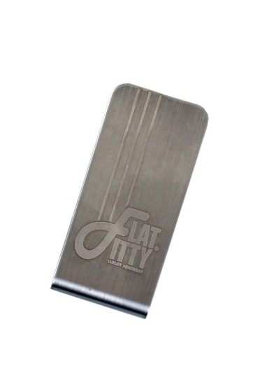 Klips Flat Fitty Money Clip Silver