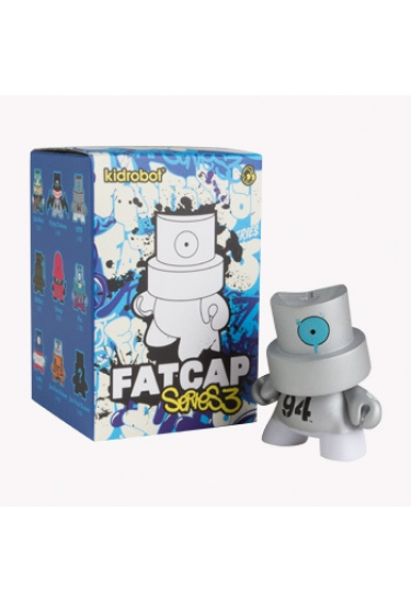 Fat Cap 3 by Kidrobot Vinyl Toy