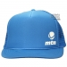 MTN Montana Trucker Cap Light Blue / Light Blue