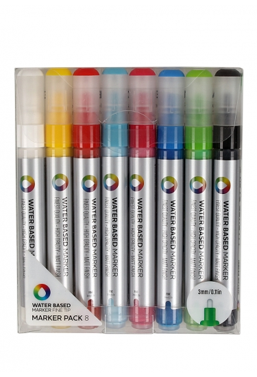 MTN Montana Water Based Markers Fine Set 8szt.